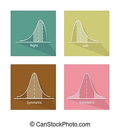 Collection of Positve and Negative Distribution Curve