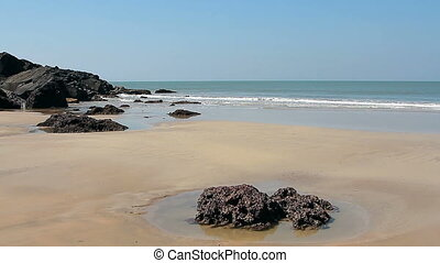 Beautiful beach Talpona Goa