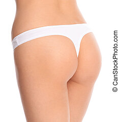 picture of a girl's buttocks