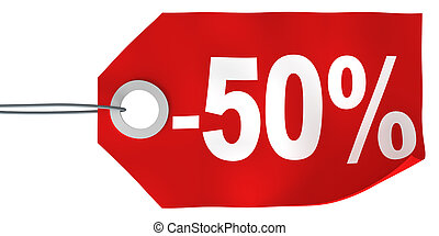 50% off tag