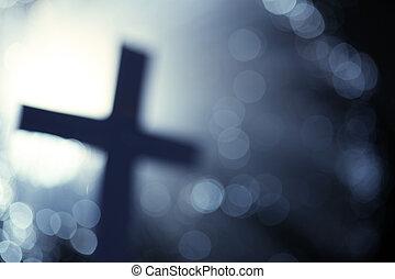 abstratos, crucifixos