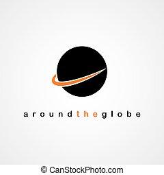 globe round logo