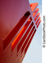 Abstract architectural construction - Very big and red...