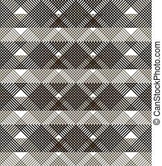 Seamless lattice with translucent horizontal wide stripes -...