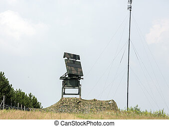 Mobile medium range radar
