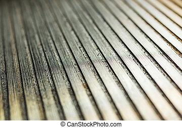 Closeup non stick grill. - Close-up non stick grill pan....