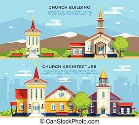 Church Flat Banners