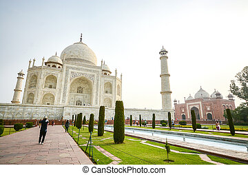 Taj mahal, famous place of India - Taj mahal, A famous...