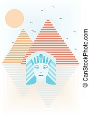 Abstract ancient Egypt