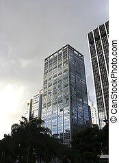 Building in Downtown Sao Paulo, Brazil.