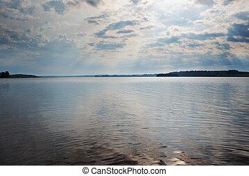 Lake Kenozero . Arkhangelsk region, Russia