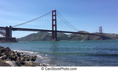 Golden Gate Bridge California San Francisco - Golden Gate...