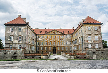 Old castle in Holic, Slovakia, cultural heritage - Old...