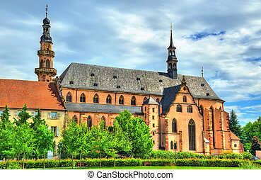 The Jesuit Church in Molsheim - France - The Jesuit Church...