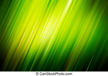 Green blurry diagonal rays. Background for design works.