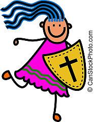 Shield of Faith Girl