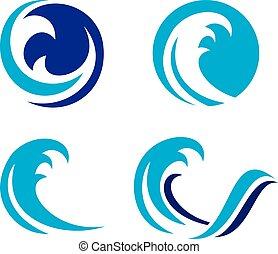 Wave 2.cdr - EPS Easy Editable, Vector, Jpeg High...