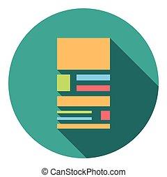 Web Page Layout Flat Icon