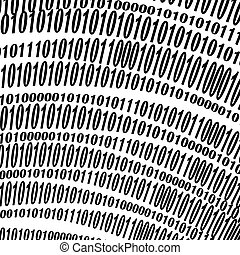 Algorithm, Data Code, Decryption and Encoding - Binary Code...