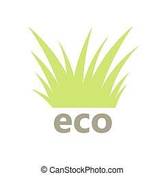 Grass eco symbol