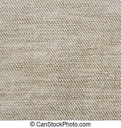 Tweed cloth. Brown textile background
