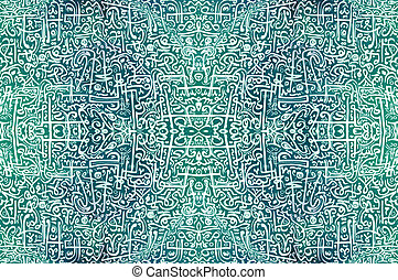 Abstract African Tribal vintage ethnic pattern ornamental /...