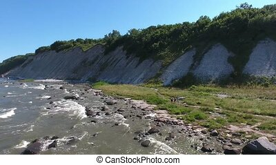 Coastal Landscape at Kap Arkona on Ruegen Island baltic Sea