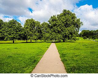 Regents Park, London HDR - High dynamic range HDR Regent...