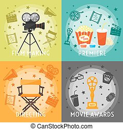 From Film Making To Awards Concept