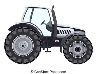 Tractor side view