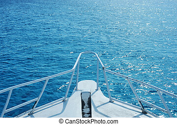boat in the Red Sea