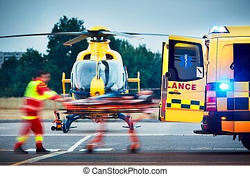 Emergency medical service - Cooperation between air rescue...