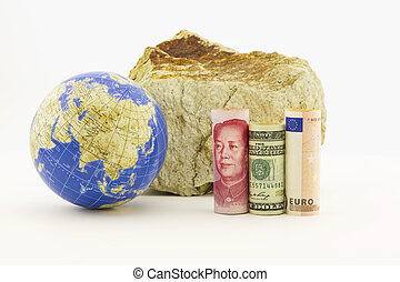 Global finance in rocky times - Chinese yuan, American...