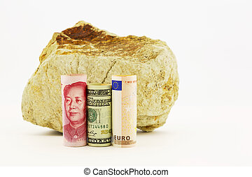 Influences on global business - Influential currencies, the...