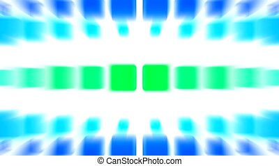 color block,light rays,computer web tech background