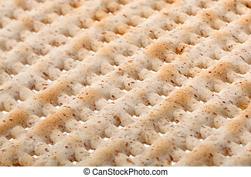 Matzo jewish bread background