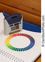 matching colours - Paint swatch and electronic colour...