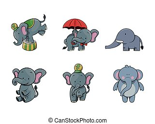 elephant illustration design