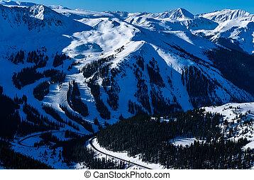 Arapahoe Basin Ski Resort - Near Keystone, Colorado