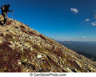Climbing Mount Elbert - Mt Elbert Trail, Twin Lakes Colorado
