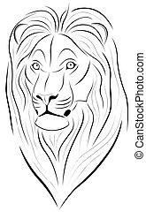 Lion, tattoo