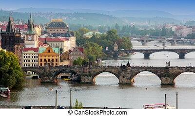 Prague Bridges, the Czech Republic - Prague Bridges the...