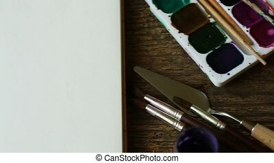 Art of Painting Painting set: paper, brushes, paints,...