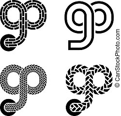 go shoelace infinity eight symbol - illustration for the web