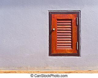 Door of drain pipe shaft - Small door of drain pipe line...
