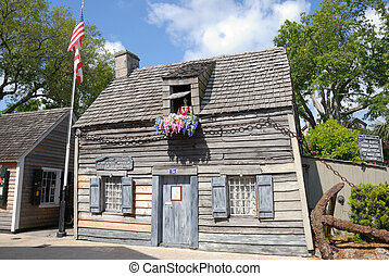 Oldest School House Saint Augustine - Oldest School house at...
