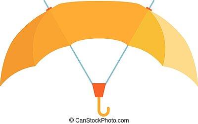 Umbrella vector illustration - Cute multi colored umbrella...