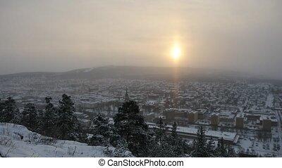 The city of Sundsvall, Sweden
