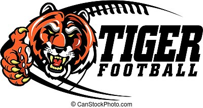 Image result for clip art tiger football pictures