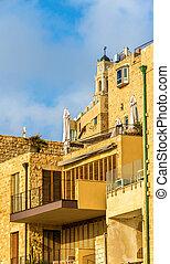 Buildings in the old city of Jaffa - Tel Aviv, Israel